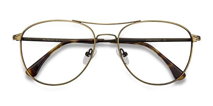 Bronze Westbound -  Metal Eyeglasses