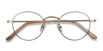 Silver Cupertino -  Metal Eyeglasses