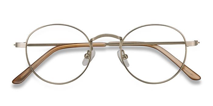 Silver Cupertino -  Metal Eyeglasses