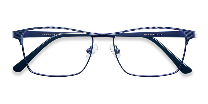 Blue Caliber -  Metal Eyeglasses