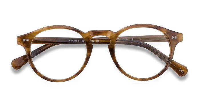 Cognac Theory -  Vintage Acetate Eyeglasses