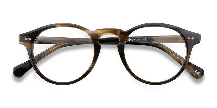 Macchiato Theory -  Vintage Acetate Eyeglasses