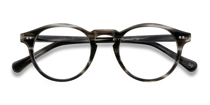 Cafe Noir Theory -  Vintage Acetate Eyeglasses