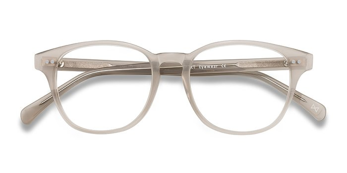 Clear Gray Lucid -  Acetate Eyeglasses