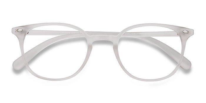 Matte Clear Hubris -  Plastic Eyeglasses