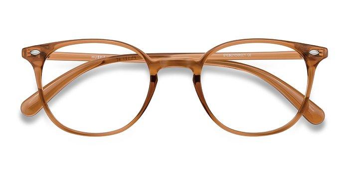 Clear Copper Hubris -  Plastic Eyeglasses