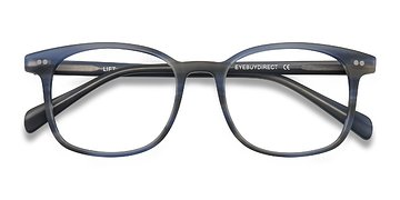 Blue Striped Lift -  Acetate Eyeglasses