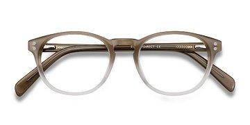Brown Split -  Acetate Eyeglasses
