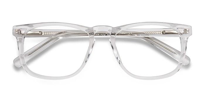 Clear Rhode Island -  Acetate Eyeglasses
