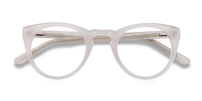 White Lynx -  Vintage Acetate Eyeglasses