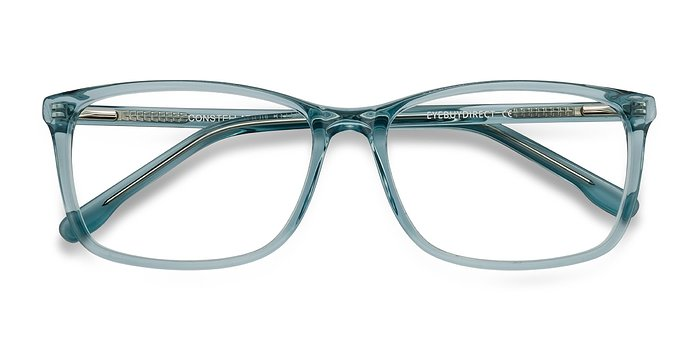 Clear Blue Constellation -  Acetate Eyeglasses