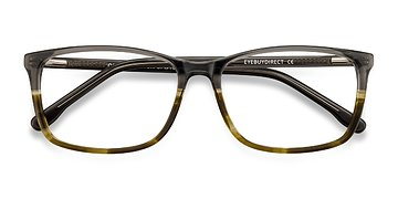 Gray Brown Constellation -  Acetate Eyeglasses