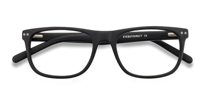 Matte Black Koi -  Acetate Eyeglasses