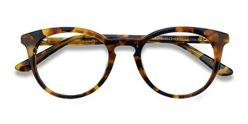 Amber & Black Griffin -  Geek Acetate Eyeglasses