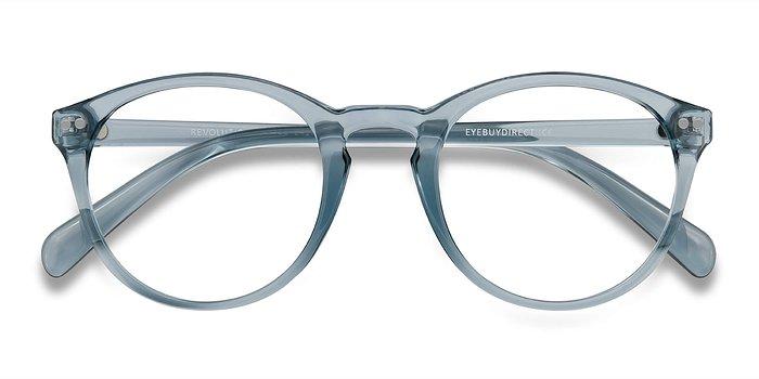 Clear Blue Revolution -  Plastic Eyeglasses