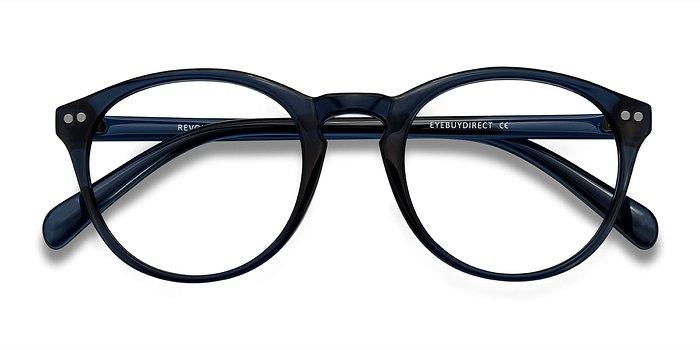 Navy Revolution -  Plastic Eyeglasses