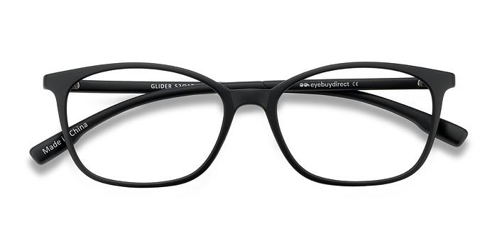 Black Glider -  Plastic Eyeglasses