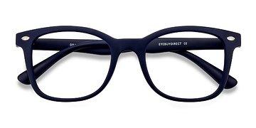 Navy Drama -  Plastic Eyeglasses