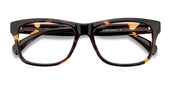 Tortoise Gamble -  Plastic Eyeglasses
