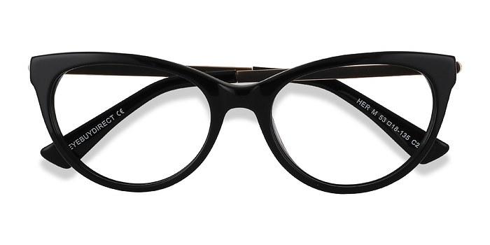 Black Her -  Acetate Eyeglasses