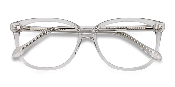Clear Escape -  Acetate Eyeglasses