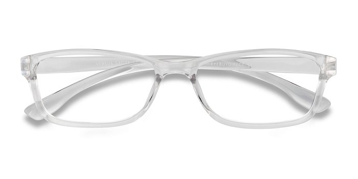 Clear Versus -  Plastic Eyeglasses