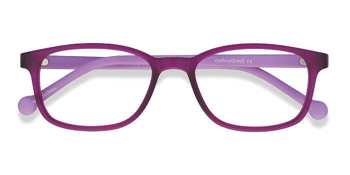 Purple Posie -  Plastic Eyeglasses