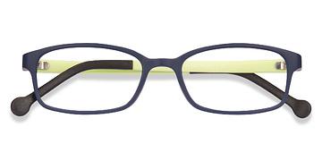 Navy Gizmo -  Plastic Eyeglasses