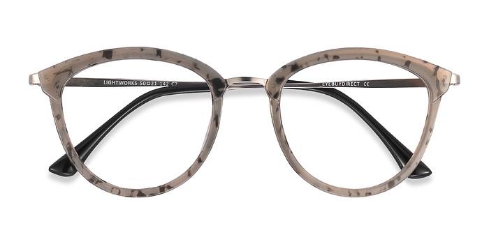 Speckled Gray Lightworks -  Metal Eyeglasses