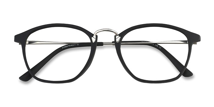 Dark Green Crave -  Vintage Metal Eyeglasses