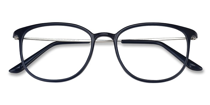 Navy Strike -  Metal Eyeglasses