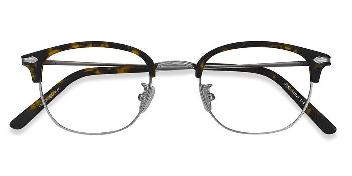 Tortoise Links -  Designer Metal Eyeglasses
