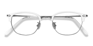 White Links -  Plastic Eyeglasses