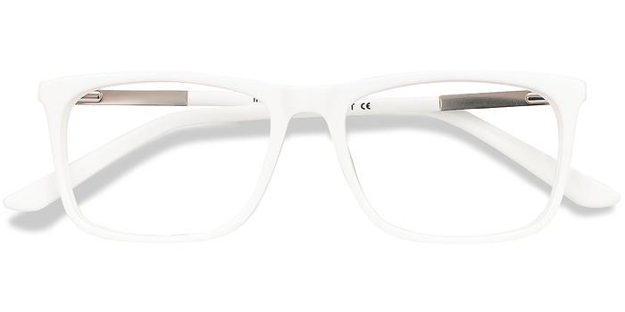 White Instance -  Acetate Eyeglasses