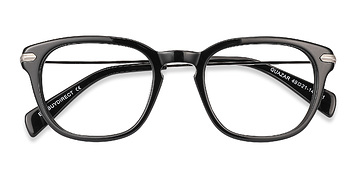 Black Quazar -  Acetate Eyeglasses