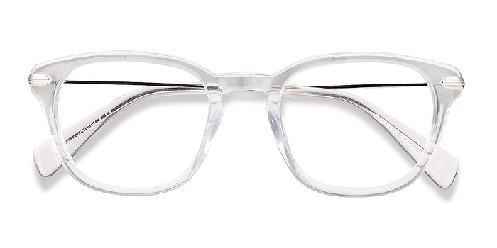 Clear Quazar -  Acetate Eyeglasses