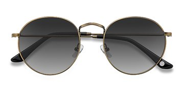 Brown Disclosure -  Metal Sunglasses