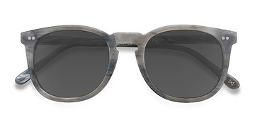 Dark Marble Ethereal -  Vintage Acetate Sunglasses