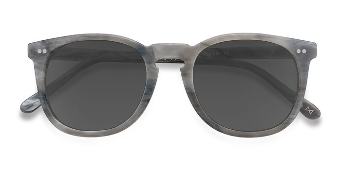 Dark Marble Ethereal -  Acetate Sunglasses