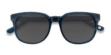 Blue Tempest -  Acetate Sunglasses