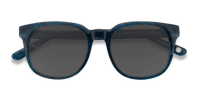 Blue Tempest -  Acetate Sunglasses