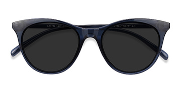 Clear navy Cartel -  Plastique Solaires