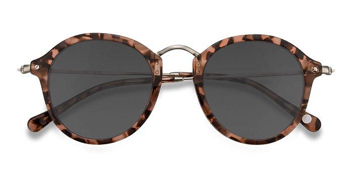 Brown Floral Atmos -  Acetate Sunglasses