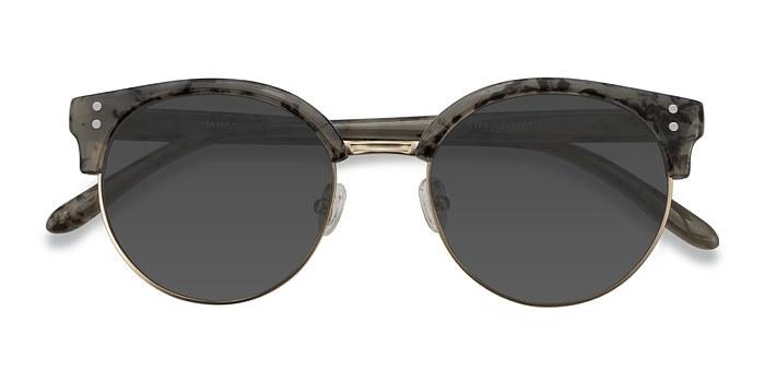 Dark Marble Samba -  Metal Sunglasses