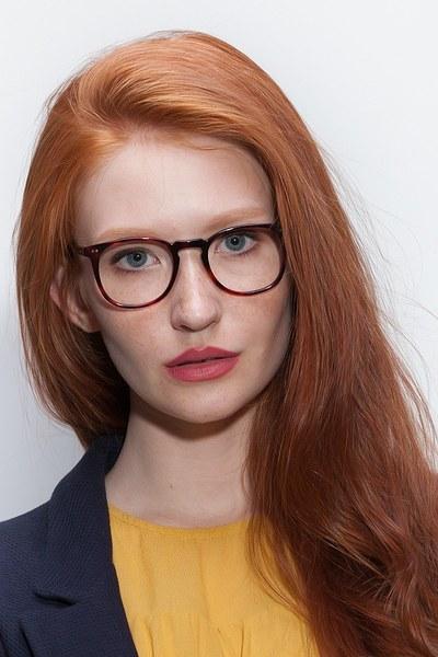 Shade Warm Tortoise Women Acetate Eyeglasses