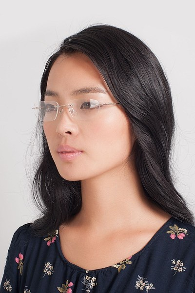 Melbourne Silver Metal Eyeglasses EyeBuyDirect